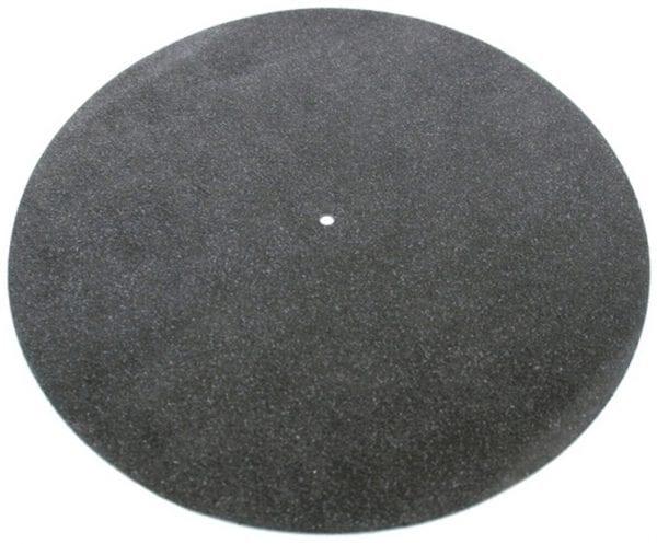TONAR Platenmat Zwart Leer (5978)